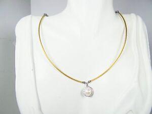 ALOR 18K Gold & Stainless Steel Classique 9.5mm Pearl & Diamond Pendant Necklace