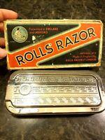 Vintage Rolls Razor Imperial No 2 ~ Made in England ~ Hone & Strop Design