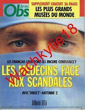 Le nouvel observateur n°1418 du 09/01/1992 Médecine Missing in action Vietnam