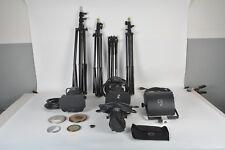 LTM Pepper Light Kit 100w, 300w, 400w, 420w, Scrims, Arri AS01 Tripod + more