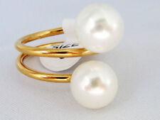 Runde Modeschmuck-Ringe Perlen