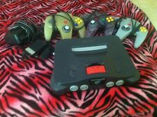 Nintendo 64 Console With Expansion Pak And 3 Controllers