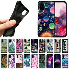 """For Samsung Galaxy S20 6.2"""" 2020 TPU Black Silicone Soft Case Protector Cover"""