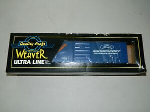 Weaver - Genuine Ford Motorsports Equipment / Parts Boxcar - 3-Rail, O-Scale