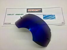 Oakley Airbrake Goggle Rip N Roll Replacement Tear Off Lens Blue Mirror