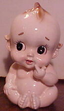 """GORGEOUS CUTE VINTAGE NEW BORN BABY 7 1/2"""" CERAMIC PLANTER 75/3, MADE IN JAPAN"""