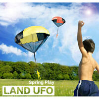 4X Kids Hand Throwing Parachute Toy Children Educational Outdoor Sport Play Game