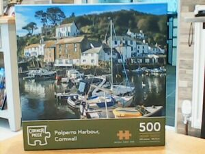 Polperro Harbour, Cornwall Jigsaw Puzzle (500 Piece)
