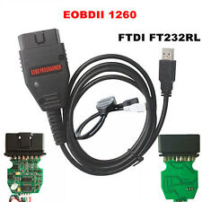 1260 ECU Diagnostic Cable Programmer Remap Flasher Tunning  Multi-Language EOBD