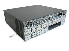 CISCO3845 Gigabit Router 15.1 Adv. Enterprise IOS 1GB DRAM - 1 Year Warranty