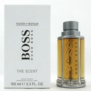 Hugo Boss The Scent Cologne By Hugo 3.3 oz Eau De Toilette Spray for Men Tester