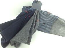 9303c94ecbc8 Men's TOMMY HILFIGER Blue Striped 73% COTTON Dress Socks - 4 Pack - $36 MSRP