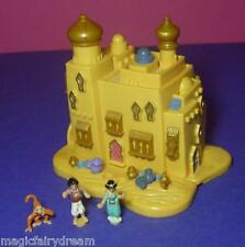 Polly Pocket Mini Disney ♥ Aladdin Orient palacio ♥ 100% completamente ♥ 1995 ♥