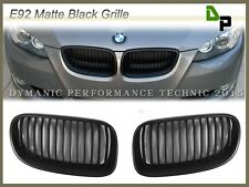 Matte Black Front Kidney Grille For BMW E92 E93 M3 Coupe/Convertible 2007-2013