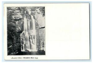 Bushkill Falls Delaware Water Gap Waterfall Antique Vintage Postcard