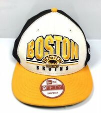 Boston Bruins New Era 9Fifty Adjustable Snapback Hat Cap Hockey NHL
