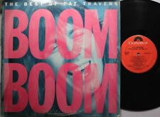 Rock Lp Pat Travers Boom Boom...The Best Of On Polydor
