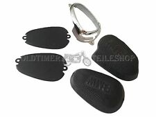 Retaining Plate, Shift Gate + Knee Pads BMW R35 with Manual Transmission in Set