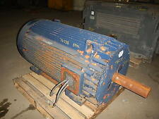250 HP General Electric Motor, 900 RPM, 5011L Frame, TEFC, 2300 V