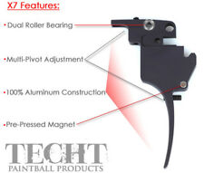 TechT Fang Double Trigger for Tippmann X7 and A5 H.E. - Paintball Upgrade