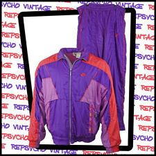 NIKE 1980s/90s Track/Shell SUIT Purple     Size L     393 W