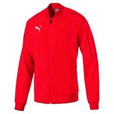 PUMA Herren FINAL Sideline Jacket Jacke - Rot - Größe L - Trainingsjacke NEU!