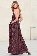 Next Pink Print Maxi Dress 14Tall(will fit 16Tall too)