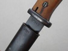 S/184G 1935 Josua Corts Scabbard German Wwii Mauser K98 bayonet k 98