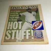 NY Daily News: 10/17/2009 CC & Yanks Torch the Angels on Frigid Night in Bronx