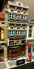 LEGO CUSTOM MODULAR PUB fits with 10264 for city or train display MOC 540 np