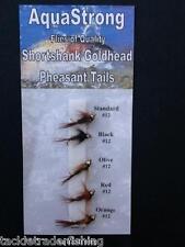 FLY FISHING FLIES-SHORTSHANK GOLDHEAD PHEASANT TAIL