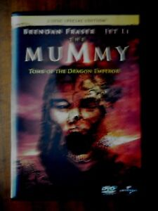 THE MUMMY TOMB OF THE DRAGON EMPEROR 2 DISC
