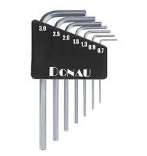 Donau-Elektronik: Sechskantschlüssel Set 7-tlg., 0,7-3,0mm, metrisch (DO 820)