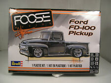 1956 FORD FD-100 PICKUP FOOSE DESIGN REVELL 1:25 SCALE PLASTIC MODEL CAR KIT