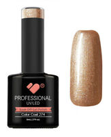 274 VB Line Bronze Cappuccino Metallic - UV/LED nail gel polish - super quality