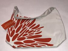 LEAN CUISINE INSULATED LUNCH BAG WHITE AND ORANGE NEW