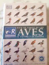 Guia de campo de las aves de España y de Europa. Ediciones Omega