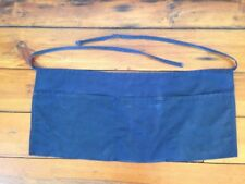 Vintage Sysco Navy Blue Cloth Tool Chef Culinary Worker Waist Pouch Bag Apron