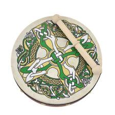 "8"" Bodhran With Celtic Cross Design"