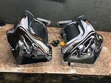 *Harley-Davidson Vented Fairing Lowers, Used, Chrome, 83-13 Touring Models*