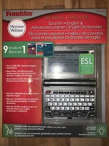 Franklin BES-2150 Speaking Spanish-English Dictionary
