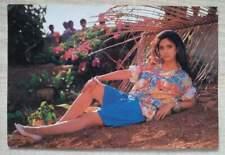 Bollywood actress - Meenakshi Seshadri - Rare postcard post card