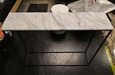 Mahaut Marble and Metal Console no4