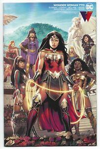 Wonder Woman #770 2021 Unread Travis Moore Wraparound Variant DC Comic Cloonan