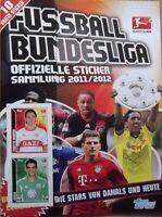 Topps Bundesliga 2011 / 2012 10 Sticker aus fast allen aussuchen