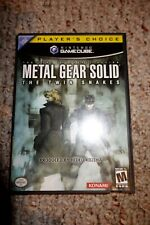 Metal Gear Solid: The Twin Snakes Nintendo GameCube Complete Player's Choice