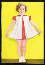 1930s Shirley Temple Japanese Postcard Dance lesson