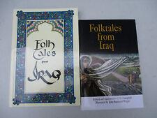 Iraq Folk Tales Myth Legend Middle East Arab Muslim Iraqi Folklore Lot 1995