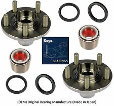 Front Wheel Hub & KOYO (OEM) Bearing & Seals Kit For 00-04 SUBARU OUTBACK (PAIR)
