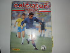 MANCOLISTE FIGURINE PANINI -CALCIATORI 1989-90  REC.- REMOVED FROM AN ALBUM